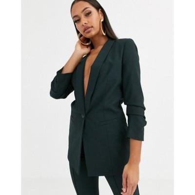 エイソス レディース ジャケット・ブルゾン アウター ASOS DESIGN mix & match suit blazer