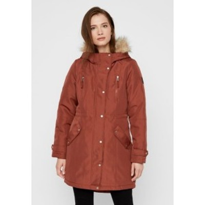 ヴェロモーダ レディース コート アウター VMTRACK EXPEDITION - Winter coat - brown brown