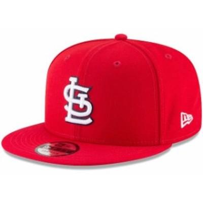New Era ニュー エラ 帽子 キャップ New Era St. Louis Cardinals Red Team Color 9FIFTY Snapback Hat
