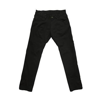rin project(リンプロジェクト) ストレッチサイクル ロングパンツ 裾止め サドルパッチ 3001 ブラック L