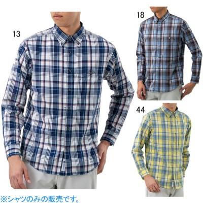 ミズノ メンズファッション カジュアルシャツ 長袖 マジックドライ ベンチレーションシャツ MIZUNO B2MC0006