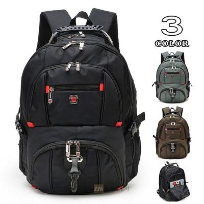 リュック 大容量 リュックサック PC対応バッグ ビジネス ディバッグ 出張 防水 カバン 大容量 出張 登山 通学 通勤 軽量