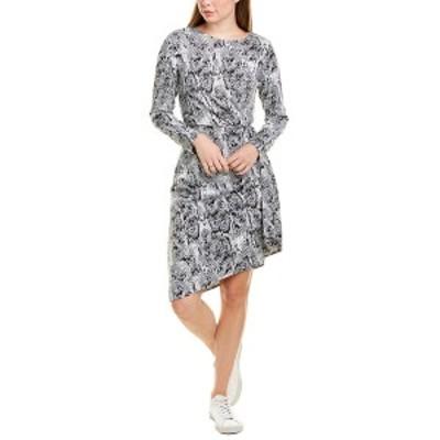 ジュリア ジョーダン レディース ワンピース トップス Julia Jordan Pleated Mini Dress grey multicolor