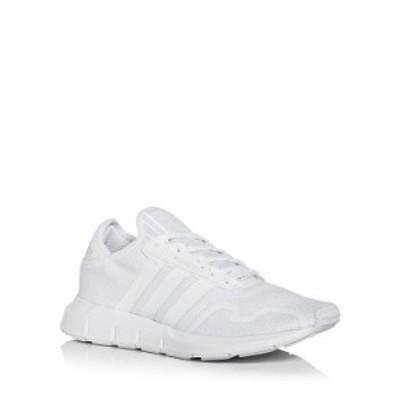 アディダス メンズ スニーカー シューズ Men's Swift Run X Knit Low Top Sneakers White