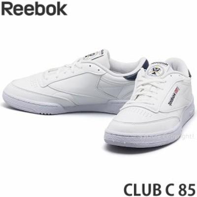 リーボック CLUB C 85 カラー:ホワイト/ベクターネイビー/ゴールドメタリック