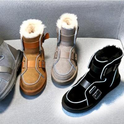 ムートンブーツ スノーシューズ ミニ丈 スノーブーツ レディース メンズ防滑 防寒 雪靴 滑らない防寒靴 雪対策 スノーブーツ レディース   雪靴防寒ブーツ