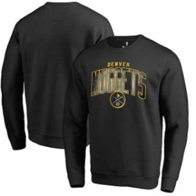 Fanatics Branded ファナティクス ブランド スポーツ用品  Fanatics Branded Denver Nuggets Black Arch Smoke Pullove