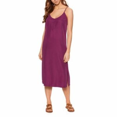 クイックシルバー Quiksilver レディース ワンピース ワンピース・ドレス coral spring dress Raspberry Radiance