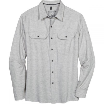 キュール KUHL メンズ シャツ トップス Shiftr Long - Sleeve Shirt Granite