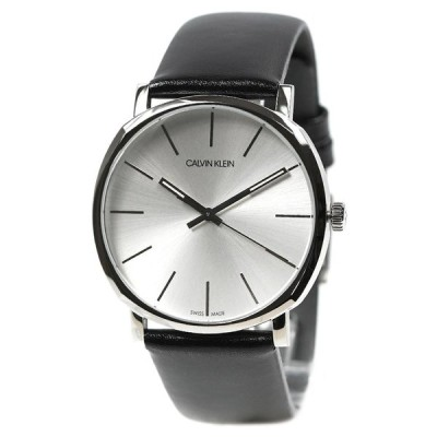 カルバンクライン 腕時計 メンズ cK Calvin Klein ポッシュ シルバー×ブラック K8Q311C6