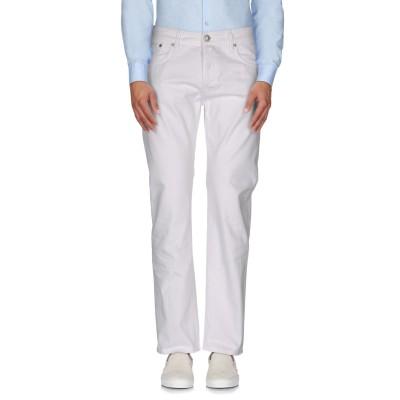 マウロ グリフォーニ MAURO GRIFONI パンツ ホワイト 29 コットン 100% パンツ