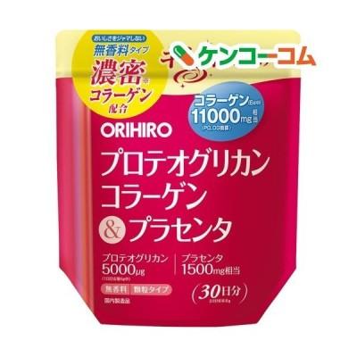 オリヒロ プロテオグリカン コラーゲン&プラセンタ ( 180g )/ オリヒロ