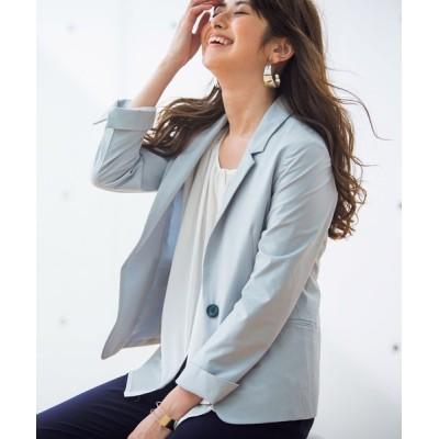 Ranan / 花粉対策テーラードジャケット WOMEN ジャケット/アウター > テーラードジャケット