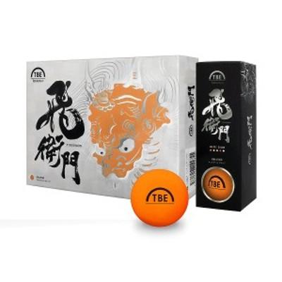 ゴルフ ダースボール 他 TOBIEMON 2ピース 蛍光マットカラー 12P マットオレンジ T-2BMO マットオレンジ