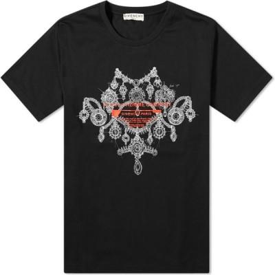 ジバンシー Givenchy メンズ Tシャツ トップス jewellery studio homme tee Black