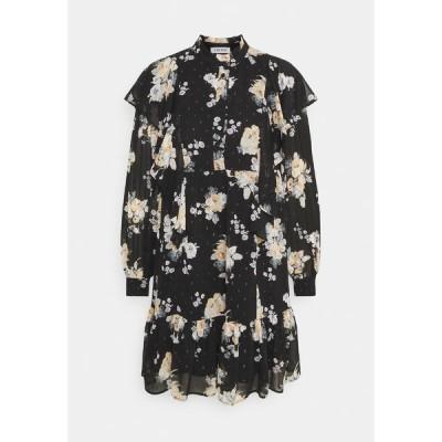 エディテッド ワンピース レディース トップス KENLEY DRESS - Day dress - schwarz/mischfarben