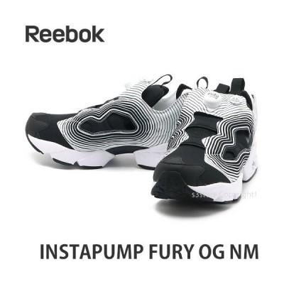 リーボック インスタポンプ フューリー Reebok INSTAPUMP FURY OG NM スニーカー 靴 シューズ カラー:ブラック/ホワイト/ブラック