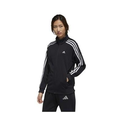 (adidas/アディダス)アディダス/レディス/マストハブ 3ストライプス Wuji ジャケット / Must Haves 3-Stripes Wuji Jacket/レディース ブラック/ホワイト
