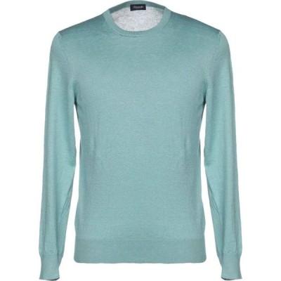 ドルモア DRUMOHR メンズ ニット・セーター トップス sweater Turquoise