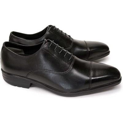[ムーンスター] 靴 ビジネスシューズ 防水 本革 メンズ SPH4611 防滑 レザー ブラック 24.5cm