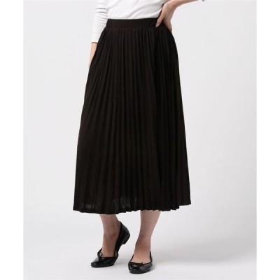 スカート [ ZAMPA ] ロングプリーツスカート