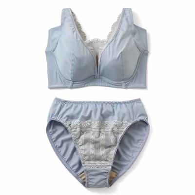 わき汗・胸汗カバー 後ろ姿が美麗なブラ&ショーツの会 フェリシモ FELISSIMO
