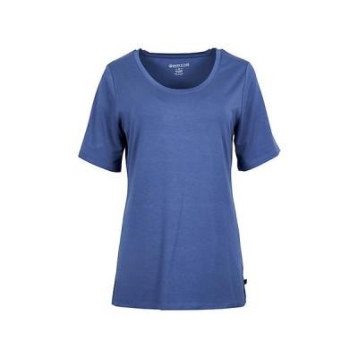 ユナイテッドバイブルー カットソー レディース トップス United By Blue Women's Standard SS Tee Blue