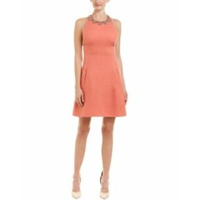 Valentino ヴァレンティノ ファッション ドレス Valentino Embellished Linen A-Line Dress