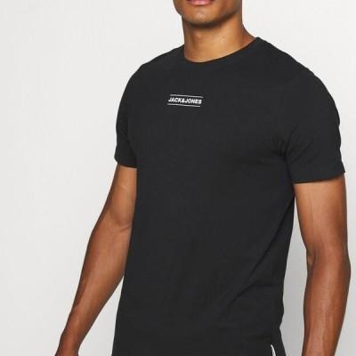 ジャックアンドジョーンズ メンズ スポーツ用品 JCOTULIP TEE - Print T-shirt - black