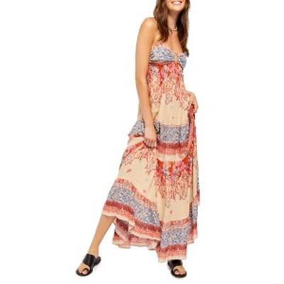 フリーピープル レディース ワンピース トップス Give a Little Sleeveless Maxi Dress CREAM COMBO