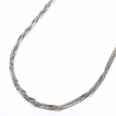 男女兼用   純チタン デザインネックレス  (長さ50cmスクリュー)