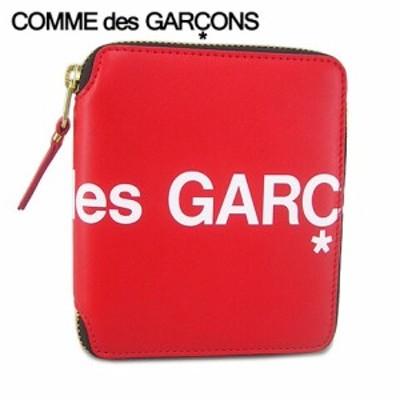 【2020春夏新作】 コムデギャルソン/COMME des GARCONS  2つ折り財布 SA2100HL RED/SM001 折財布/サイフ/ウォレット/小物/ラウンドジップ