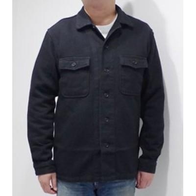 桃太郎ジーンズ 長袖 硫化染 ワークシャツ シャツジャケット MOMOTARO JEANS ヘビードビーシャツ 05-280