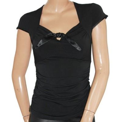 Tシャツ カットソー 半袖 ストレッチ SMサイズ MLサイズ メール便 送料無料