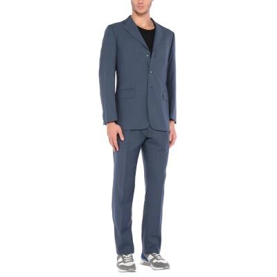 EGON von FURSTENBERG スーツ ブルーグレー 50 バージンウール スーツ