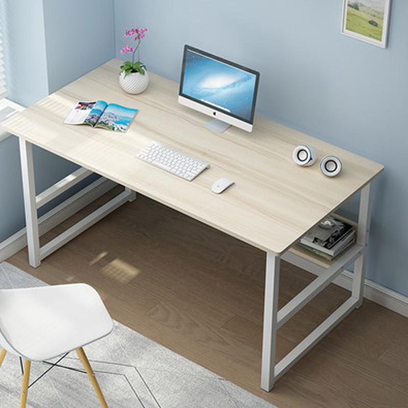 【E家工廠】簡約書桌 組裝簡單 美觀大方  辦公桌 學生桌 長桌 書桌 電腦桌
