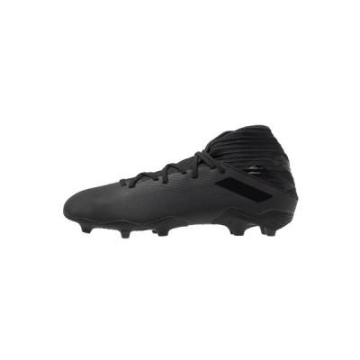 アディダス ブーツ&レインブーツ メンズ シューズ NEMEZIZ FOOTBALL BOOTS FIRM GROUND - Moulded stud football boots - core black/utility black