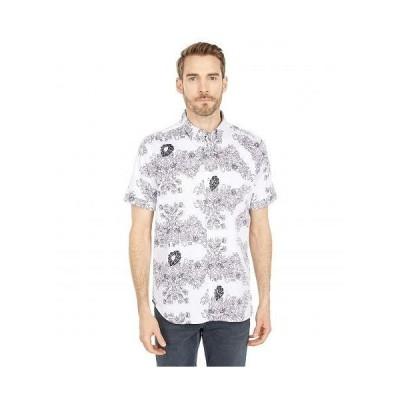 Robert Graham ロバート グラハム メンズ 男性用 ファッション ボタンシャツ Stern Short Sleeve Woven Shirt - White