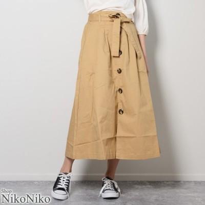 トレンチスカート ma 即納 ボトムス スカート レディース トレンチスカート トレンチ Aライン Aラインスカート フレアスカート