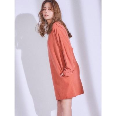 リゼクシー RESEXXY 【IS】カットオフミニワンピース (オレンジ) 【ISANA YAMAMOTO(山本 いさ奈) produce ITEM】
