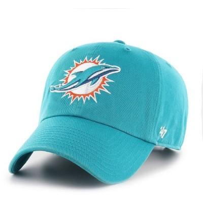フォーティーセブン 帽子 アクセサリー メンズ '47 Miami Dolphins Clean Up Cap Green