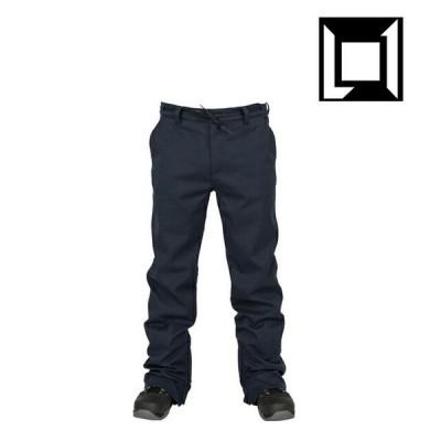 L1 エルワン パンツ KR3W STRAIGHT LEG PANT BLACK