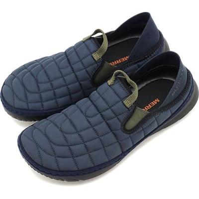 メレル MERRELL レディース ハット モック W HUT MOC キャンプモック アウトドア ライフスタイルシューズ スニーカー 靴 NAVY ネイビー系 J5001130 FW19