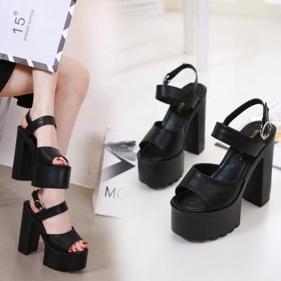 厚底サンダル  シューズ  パンプス ピンヒール  ハイヒール 14.5cm 仕事の靴    スニーカー  女性 sexy PUMPS  レディース靴 大きいサイズ  通勤用・結婚式