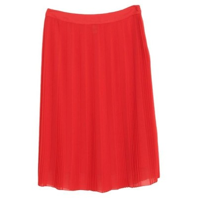 DONDUP 七分丈スカート  レディースファッション  ボトムス  スカート  ロング、マキシ丈スカート レッド