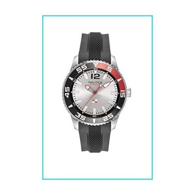 Nautica Watch NAPPBP904 Pacific Beach, Analog, Water Resistant, Luminous Hands, Silicone Band, Buckle Clasp, White【並行輸入品】