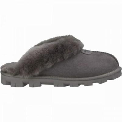 アグ UGG レディース スリッパ シューズ・靴 Coquette Slipper Grey
