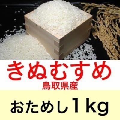 令和元年産 鳥取県産きぬむすめ1kgおためしに最適