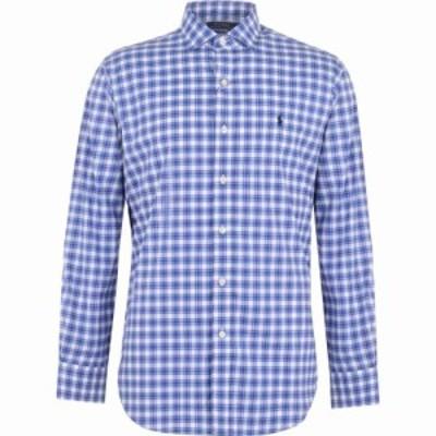 ラルフ ローレン Polo Ralph Lauren メンズ シャツ トップス Golf Poplin Shirt Blue Multi