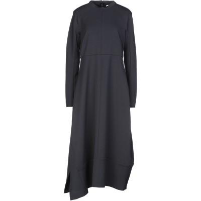 ジル サンダー JIL SANDER ロングワンピース&ドレス ダークブルー 40 バージンウール 100% ロングワンピース&ドレス